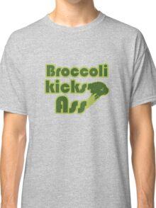 Broccoli kicks ass Classic T-Shirt