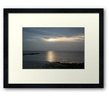 HOME WARD  Framed Print