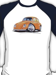 VW Beetle Orange T-Shirt