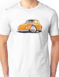 VW Beetle Orange Unisex T-Shirt