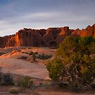 Arches Last Light by Nick Johnson
