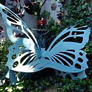 Cozy Butterfly Bench by phil decocco