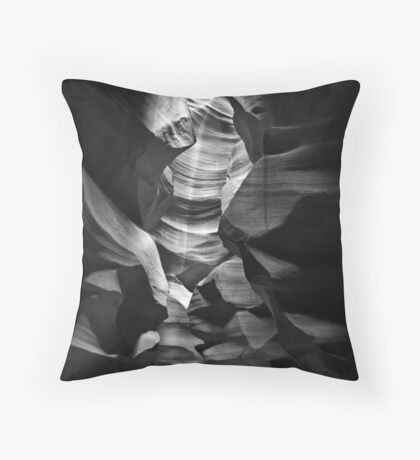 Shadow Chamber Throw Pillow