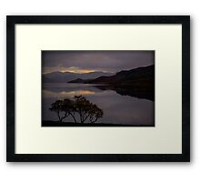 Scottish Twilight Framed Print