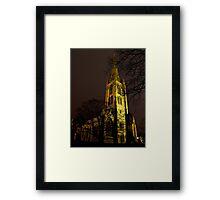 St Wulframs at Night Framed Print