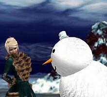 When Snowmen Attack by Shoshana Epsilon