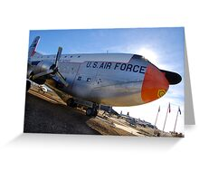 C-124 Greeting Card