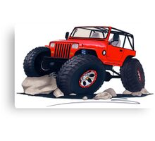 Custom Jeep Canvas Print