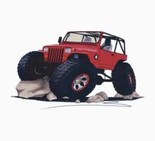 Custom Jeep Kids Clothes