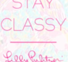 Lilly Pulitzer Quote Sticker