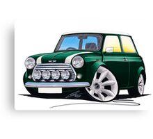 Rover Mini Cooper Sport BRG Canvas Print