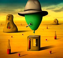Retrato de um Balão. by Marcel Caram