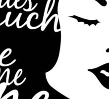 Mystery Girl Sticker