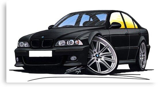 BMW M5 (E39) Black by Richard Yeomans