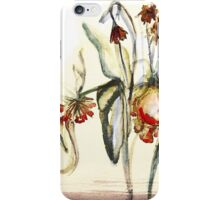 Flower's End iPhone Case/Skin