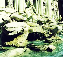 Trevi by night.. by Michelle Dry