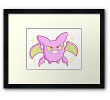 Shiny Crobat Framed Print