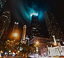 Clouds in the Chicago loop by bjphotographs