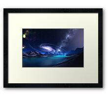 First Planetfall Framed Print