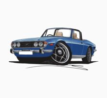 Triumph Stag Blue by Richard Yeomans