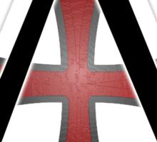 Assassins Creed Choose Your Allegiance White Sticker