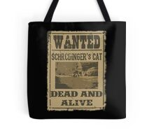 """Dead """"and"""" Alive Tote Bag"""