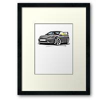 Toyota Celica (Mk7)(Facelift) GT Grey Framed Print