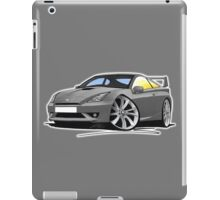Toyota Celica (Mk7)(Facelift) GT Grey iPad Case/Skin