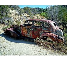 Rust in the Owyhees Photographic Print