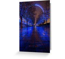 Christmas at the London Eye Greeting Card