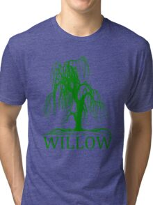 WEEPING WILLOW Tri-blend T-Shirt