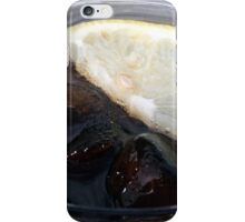 With a slice of lemon iPhone Case/Skin