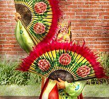 Fan Dance by Mike  Savad