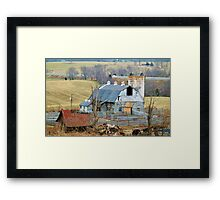Farm In Virginia  Framed Print