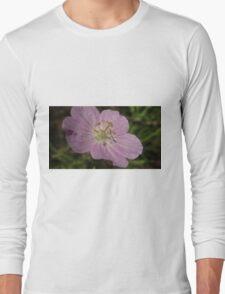 Wildflower Macro Long Sleeve T-Shirt