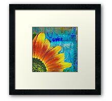 funflower 1 Framed Print