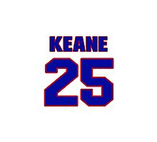 Hey, you must be a big fan of Keane, if not pls search for your favourite players jersey to wear it proudly.  Photographic Print