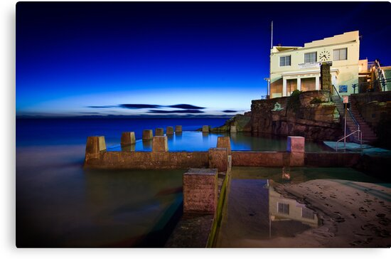 Coogee Pool and Surf Life Saving Club by Brent Pearson