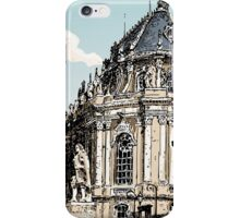 Vintage Hand Drawn View of Versailles Chapel iPhone Case/Skin