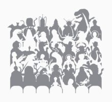 Mystery Theater 3K One Piece - Long Sleeve