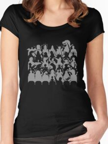 Mystery Theater 3K Women's Fitted Scoop T-Shirt