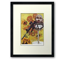 The extortion of Van Gogh Framed Print