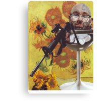 The extortion of Van Gogh Canvas Print