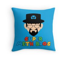 Super Meth Bros Throw Pillow