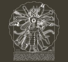 Vitruvian Machine (White) by Captain RibMan