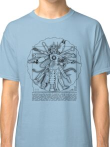 Vitruvian Machine (Black) Classic T-Shirt
