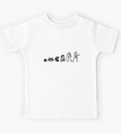 Resolution Evolution - A Quick Video Game History Kids Tee
