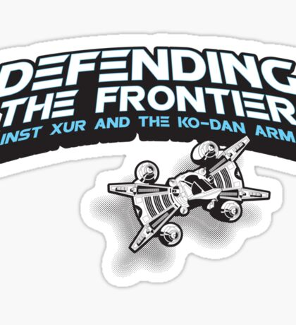 The Last Starfighter Pledge Sticker