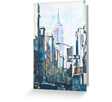 New York - Empire State Greeting Card