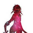 Sword Art Online - Fan Art - Sinon GALAXY by JayAFranks